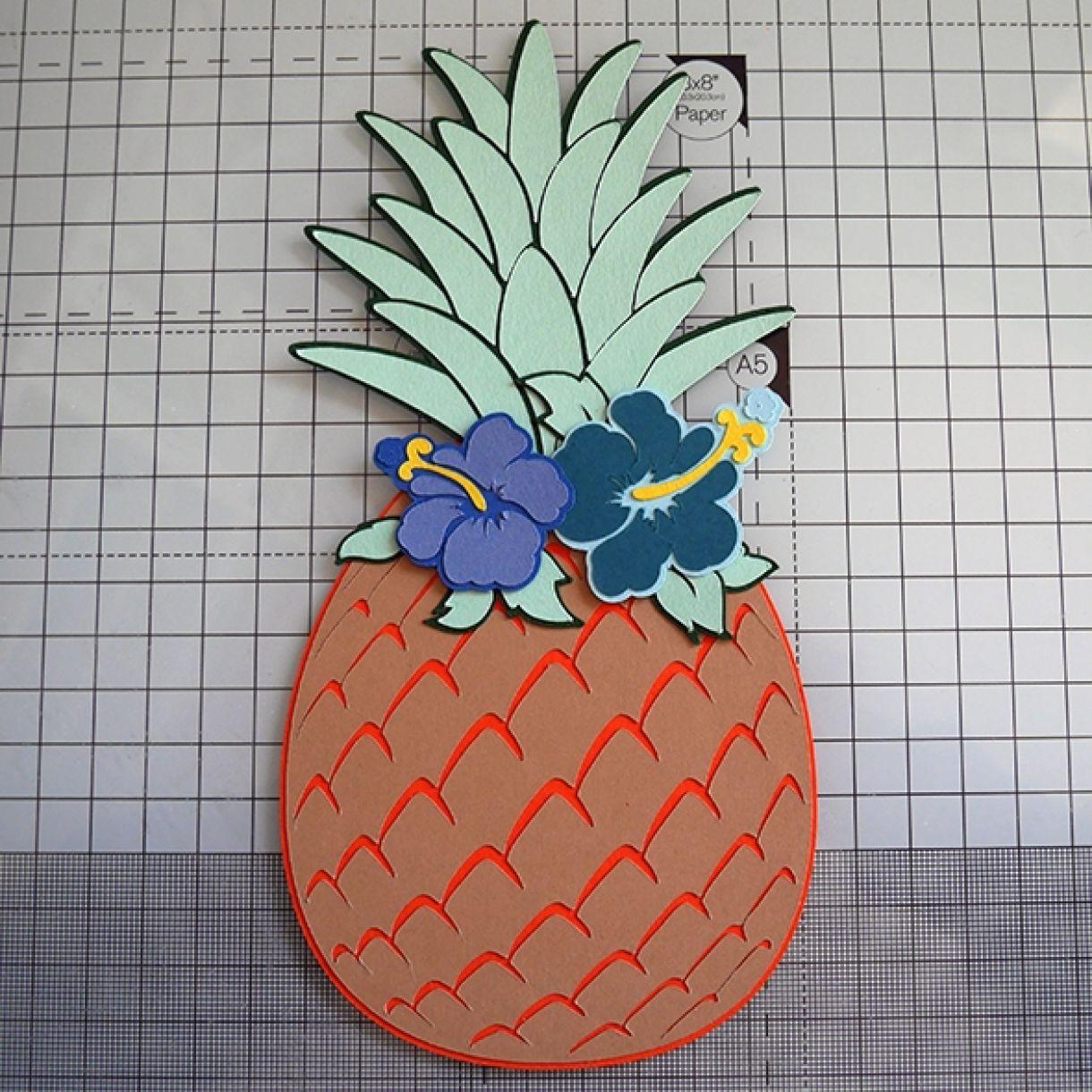 Nicole Pineapple Birthday Card 1