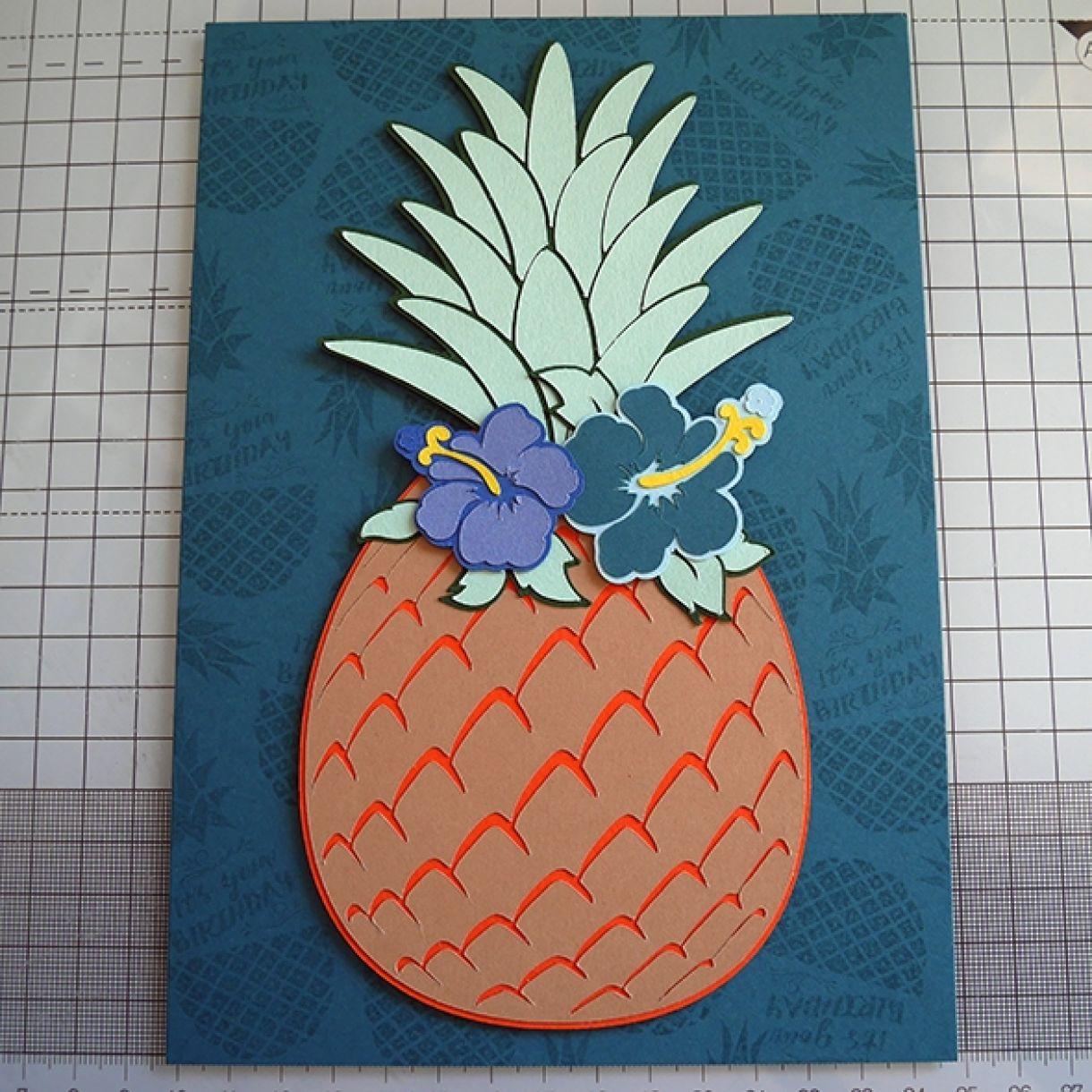 Nicole Pineapple Birthday Card 4