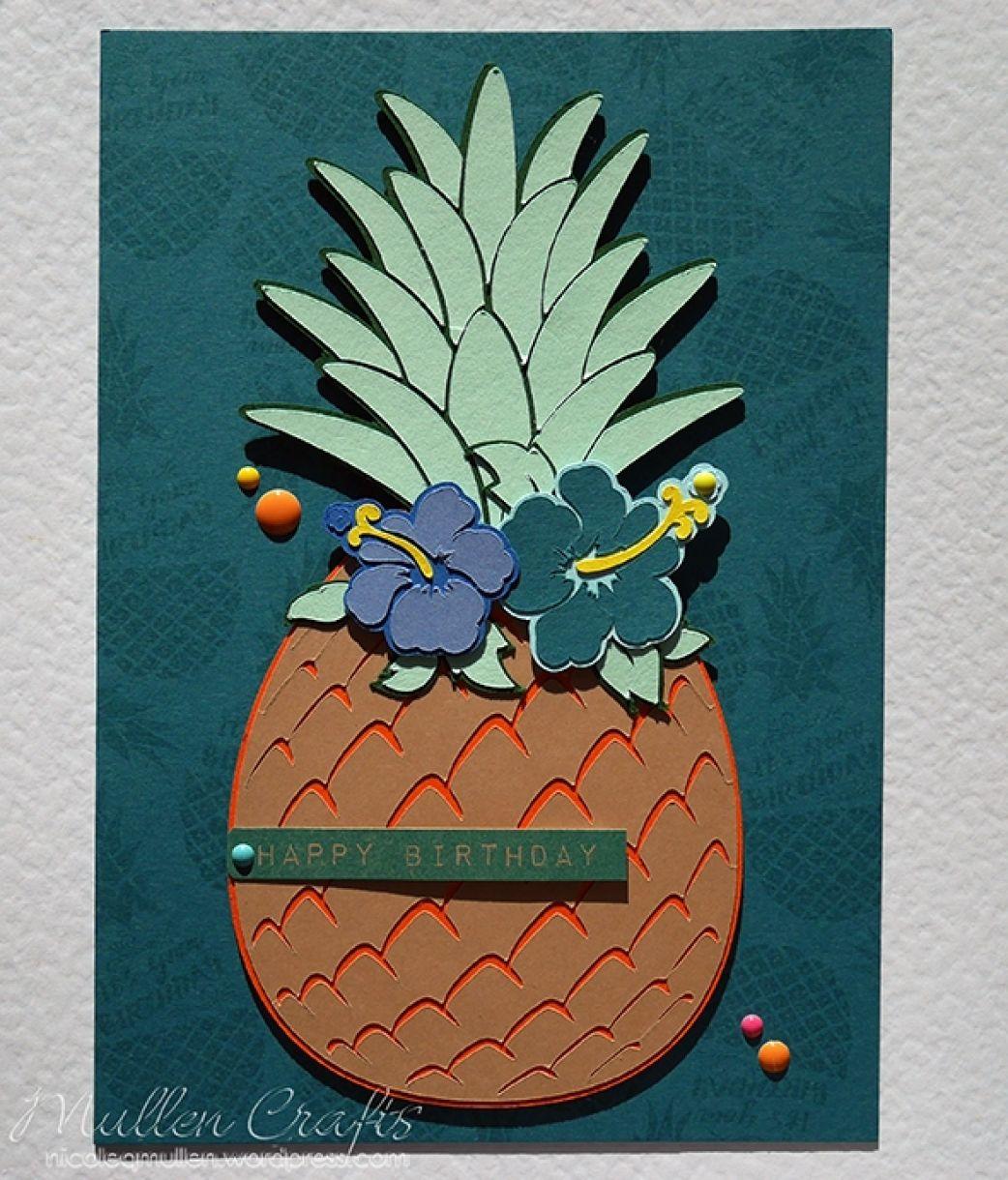 Nicole Pineapple Birthday Card 5