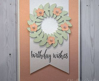 Shimmering Birthday Wishes Card