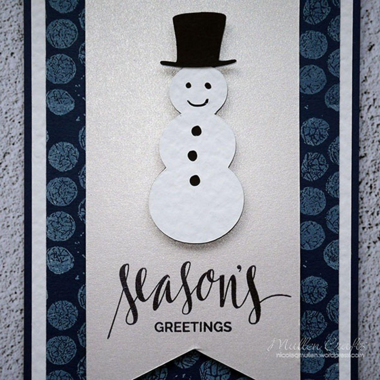 Nicole Snowman Card 7