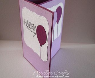 Hows To Make A Trifold Birthday Card