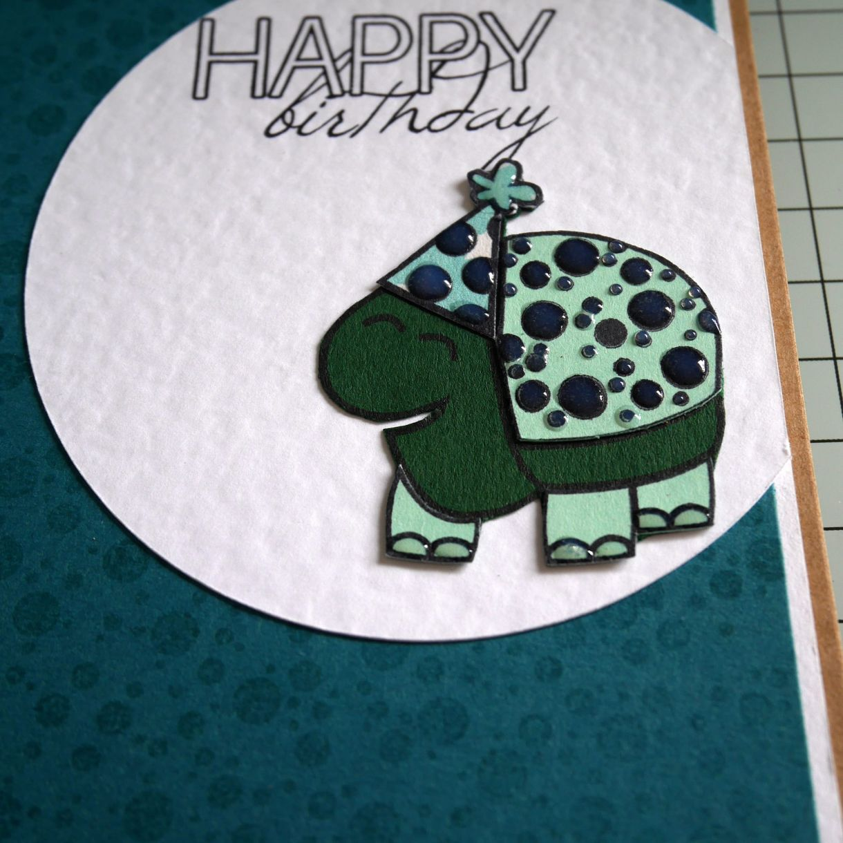 Nicole Turtle Bday Card 5