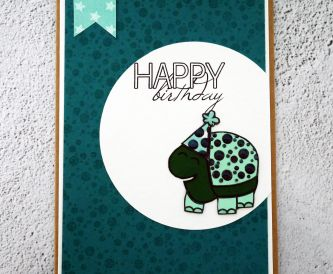 Turtle Birthday Card