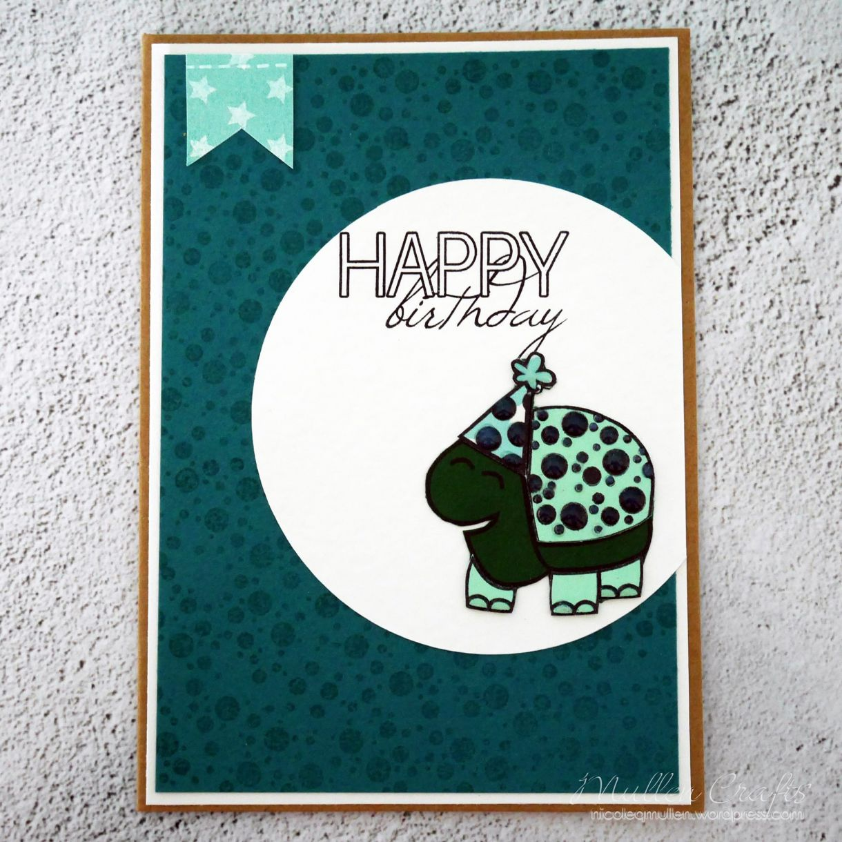 Nicole Turtle Bday Card 6
