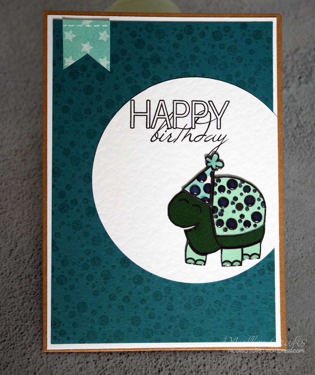 Nicole Turtle Bday Card 7