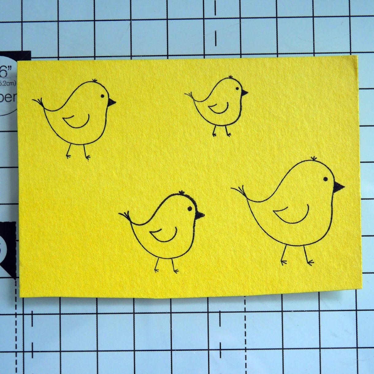 Nicole Yellow Easter Chick Card 6