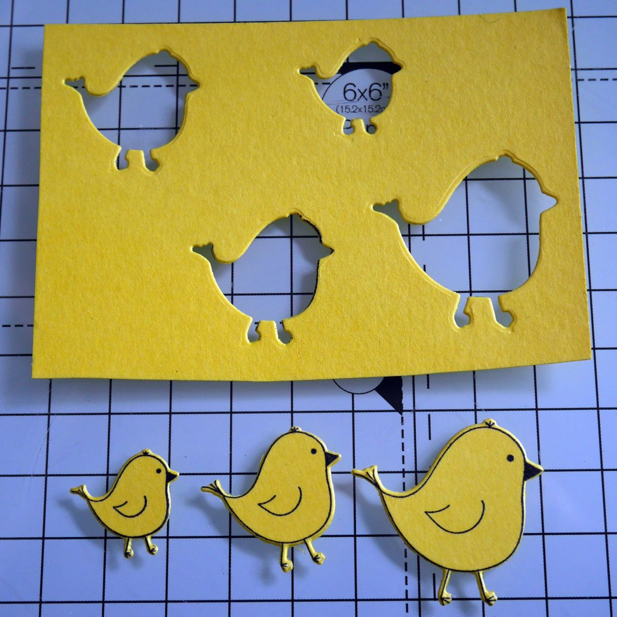 Nicole Yellow Easter Chick Card 7