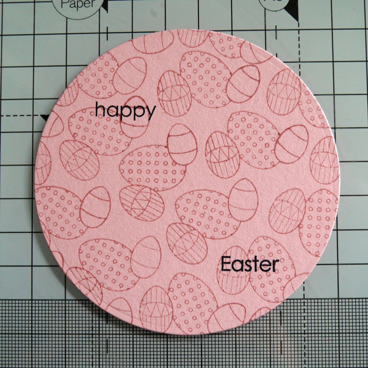 Nicole Yellow Easter Chick Card 8