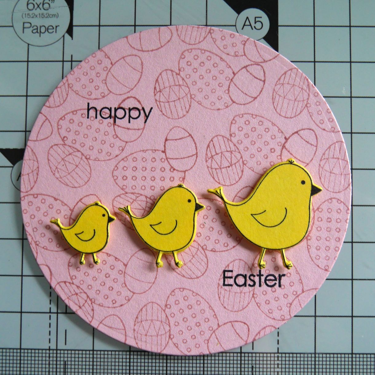 Nicole Yellow Easter Chick Card 9