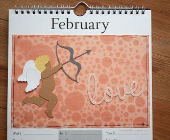 February Calendar Page - Create a Calendar