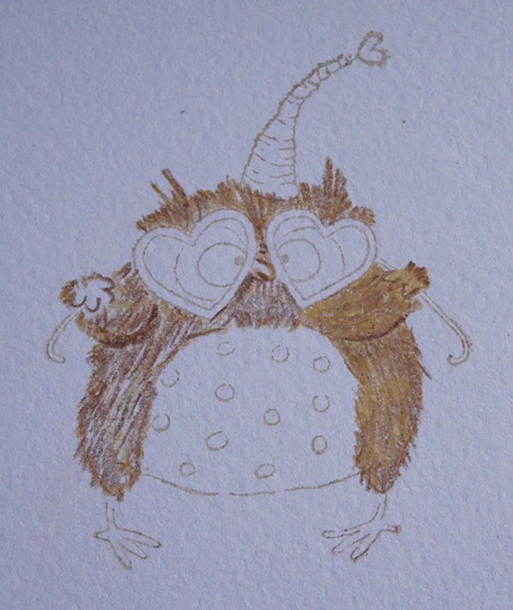 Nicole Owl Sketched 4