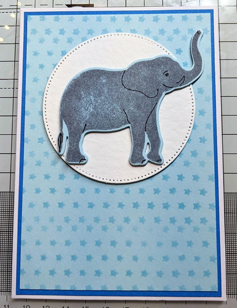 Nm Baby Boy Card Pale Blue 8