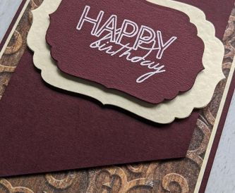 Elegant Card for Men