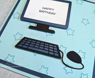 Computer Birthday Card