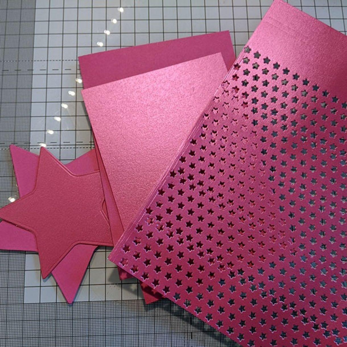 Nm Dark Pink Star 1