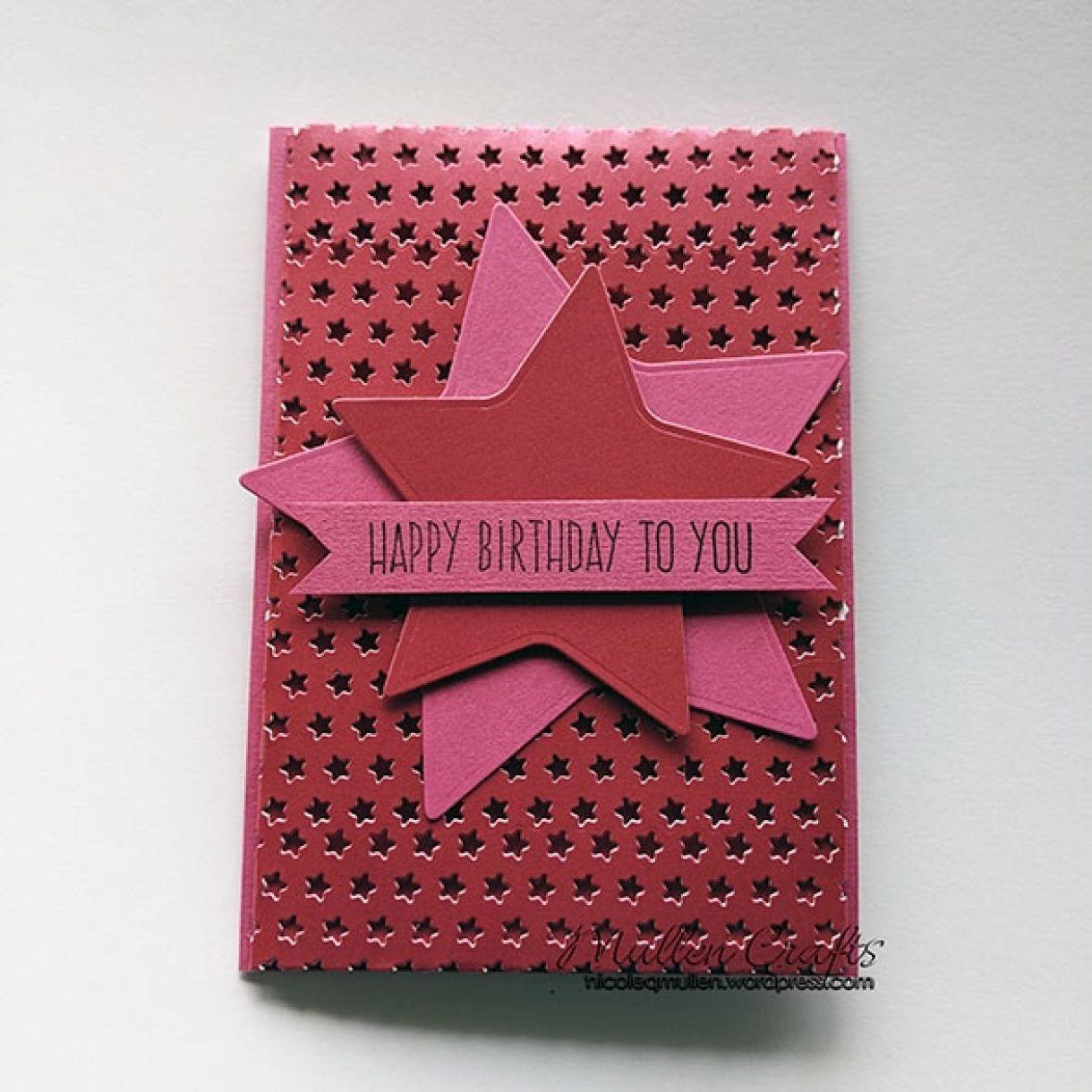 Nm Dark Pink Star 5