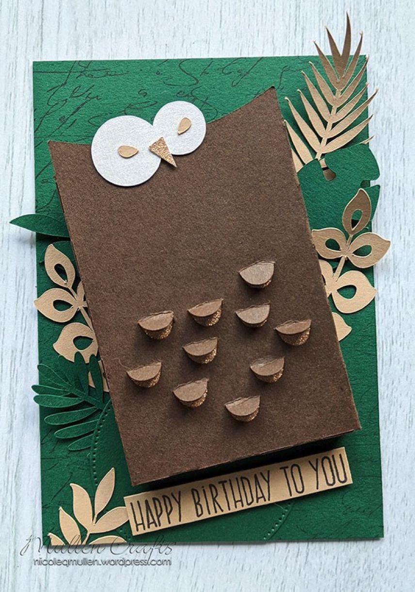 Nm Owl Gift Box Card 10