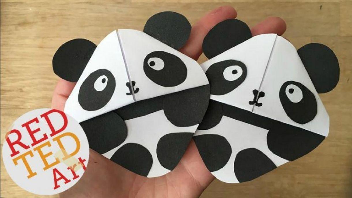 Panda Corner Bookmark Tutorial