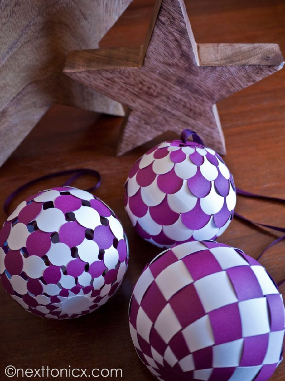 Direct weaving baubles. How to weave 90