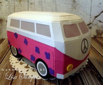 Paper Campervan Gift Box!