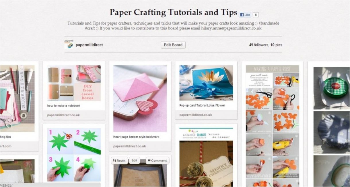 Papercrafting Tutorials 1024X549