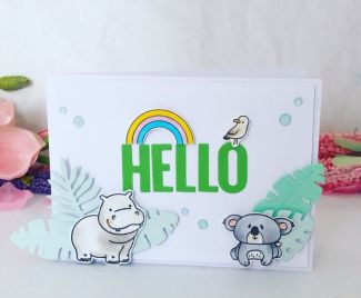 Hello Animal Card