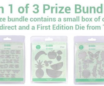 Win 1 of 3 Prize Bundles!
