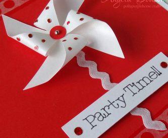 Ideas for Kids Party Invitations - Windmill Invite