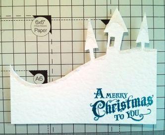 Sparkling Christmas Card Tutorial
