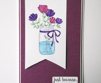 Spring Flowers - Cardmaking Project