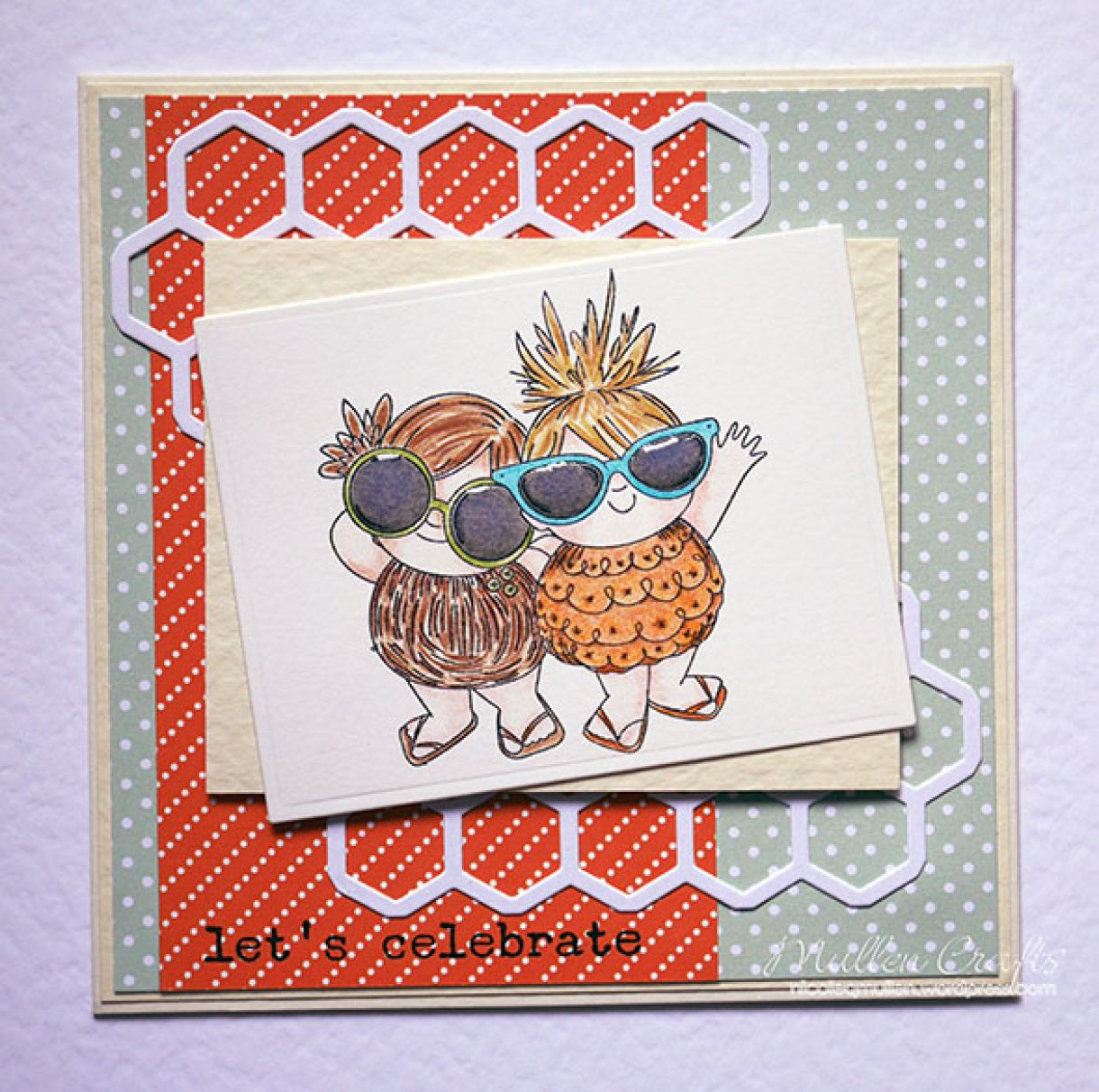 Pineapple Spring Card Nicole Small