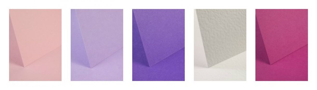 Pink And Purple A4 Cardstock