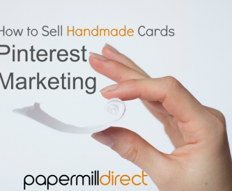 How to sell handmade cards - Using Pinterest