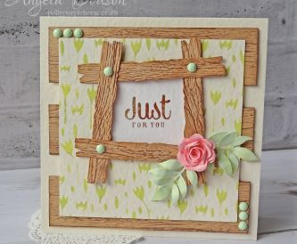 Just For You Card - Step By Step