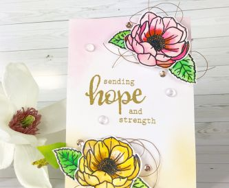 A Sending Hope & Strength Card