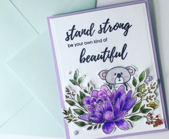 Stand Strong Card