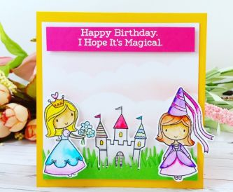 A Magical Princess Birthday Card