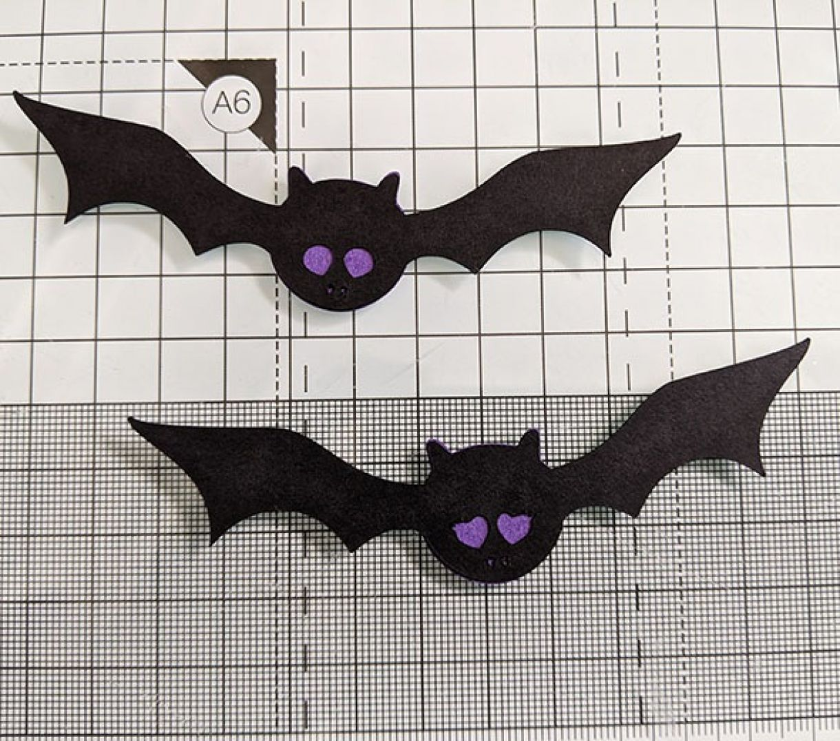 Purple Sparkle Bat Congrats Nm 2