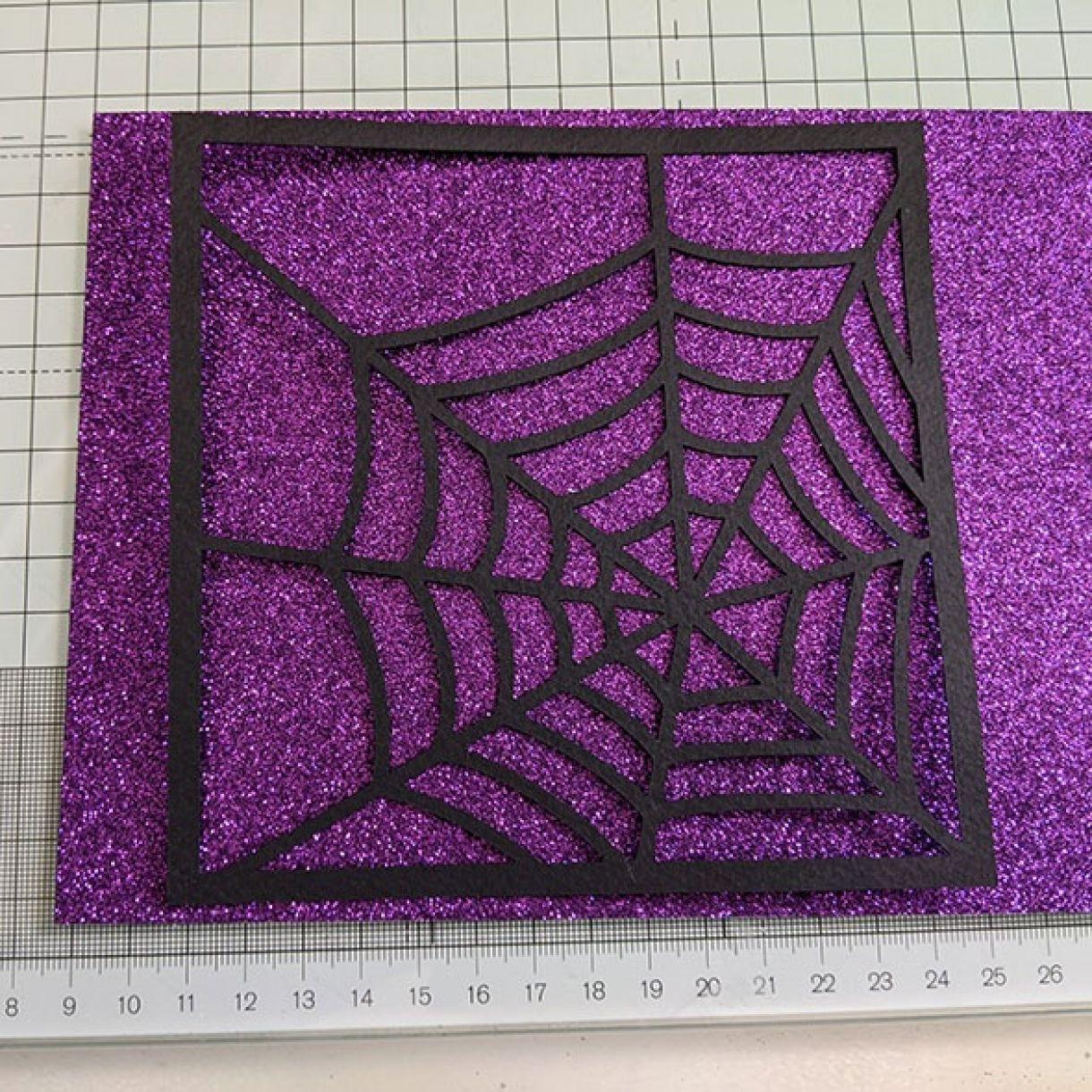 Purple Sparkle Bat Congrats Nm 3