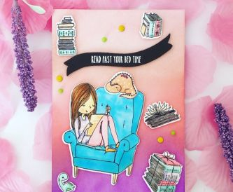 A card for a Bookworm
