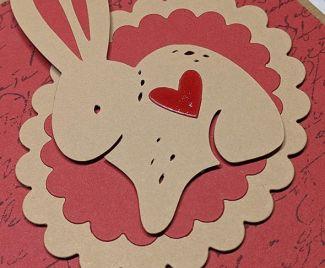 Layered Rabbit Card