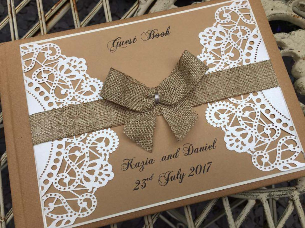 Rustic Handmade Wedding Stationery