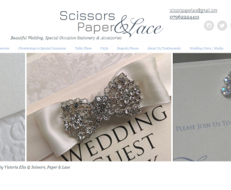 Meet the Wedding Stationer - Scissors Paper and Lace