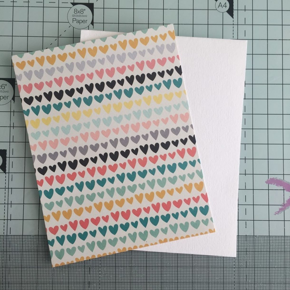 shaker card tutorial 2
