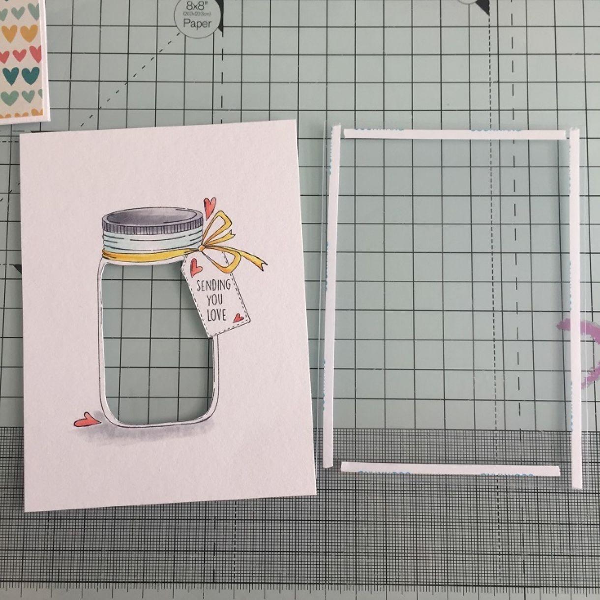 shaker card tutorial 4