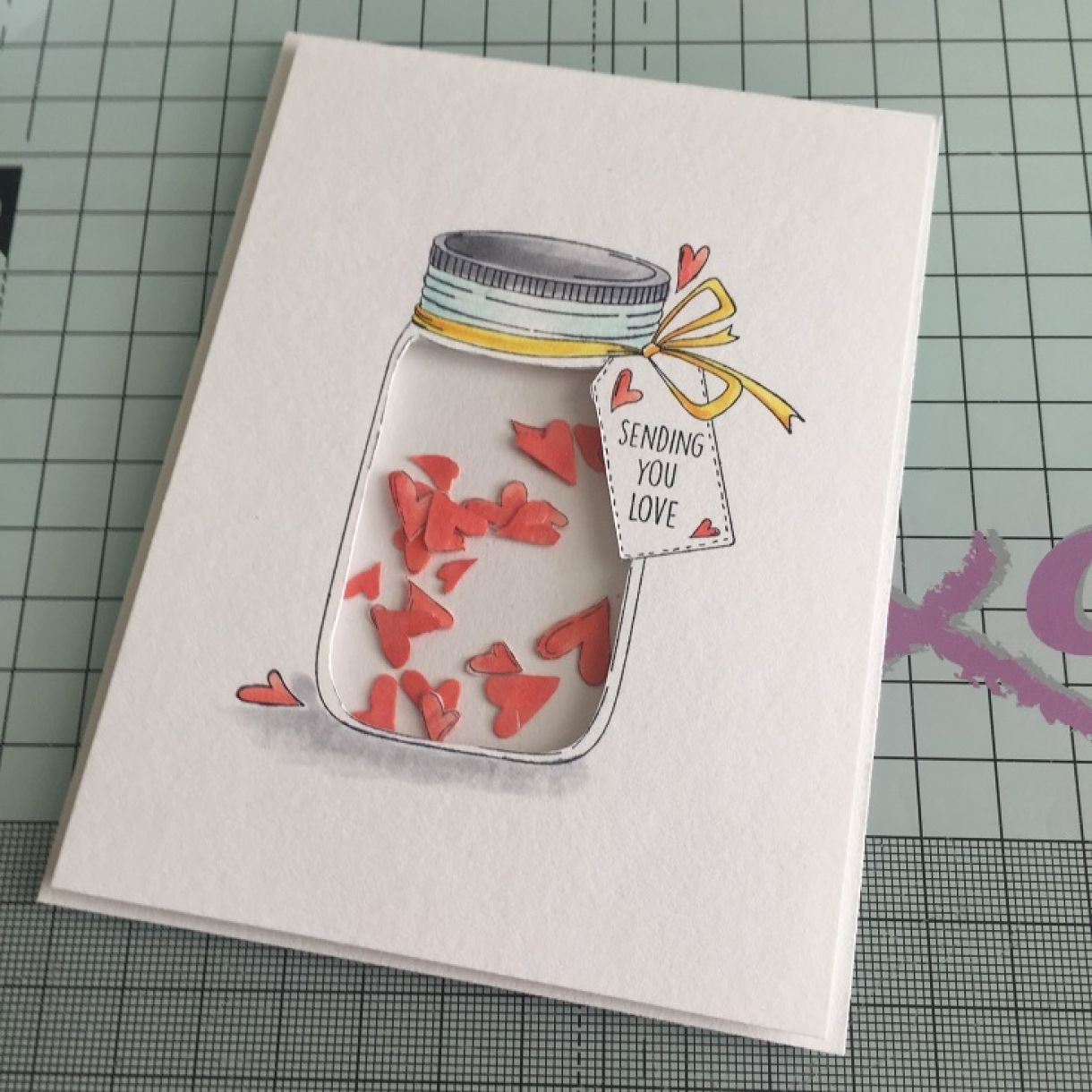 shaker card tutorial 7