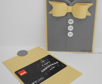 Shirt Gift Card Holder