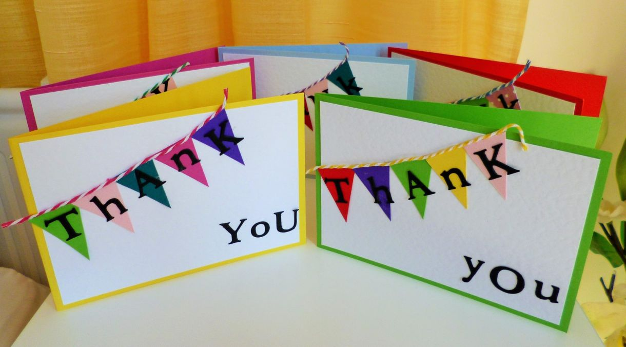 Project Fun Idea For A Kids Thank You Card
