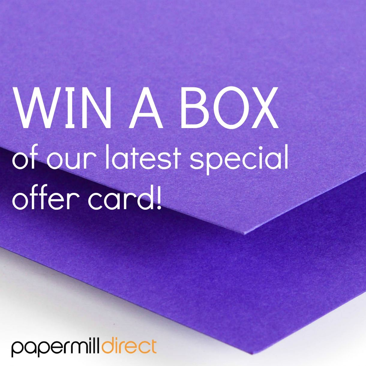 Special Offer Win A Box   Violet